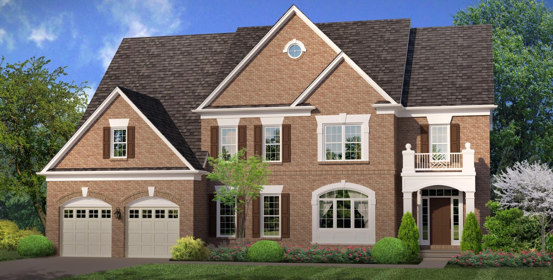 New homes in chantilly va mid atlantic builders melody for Mid atlantic home builders
