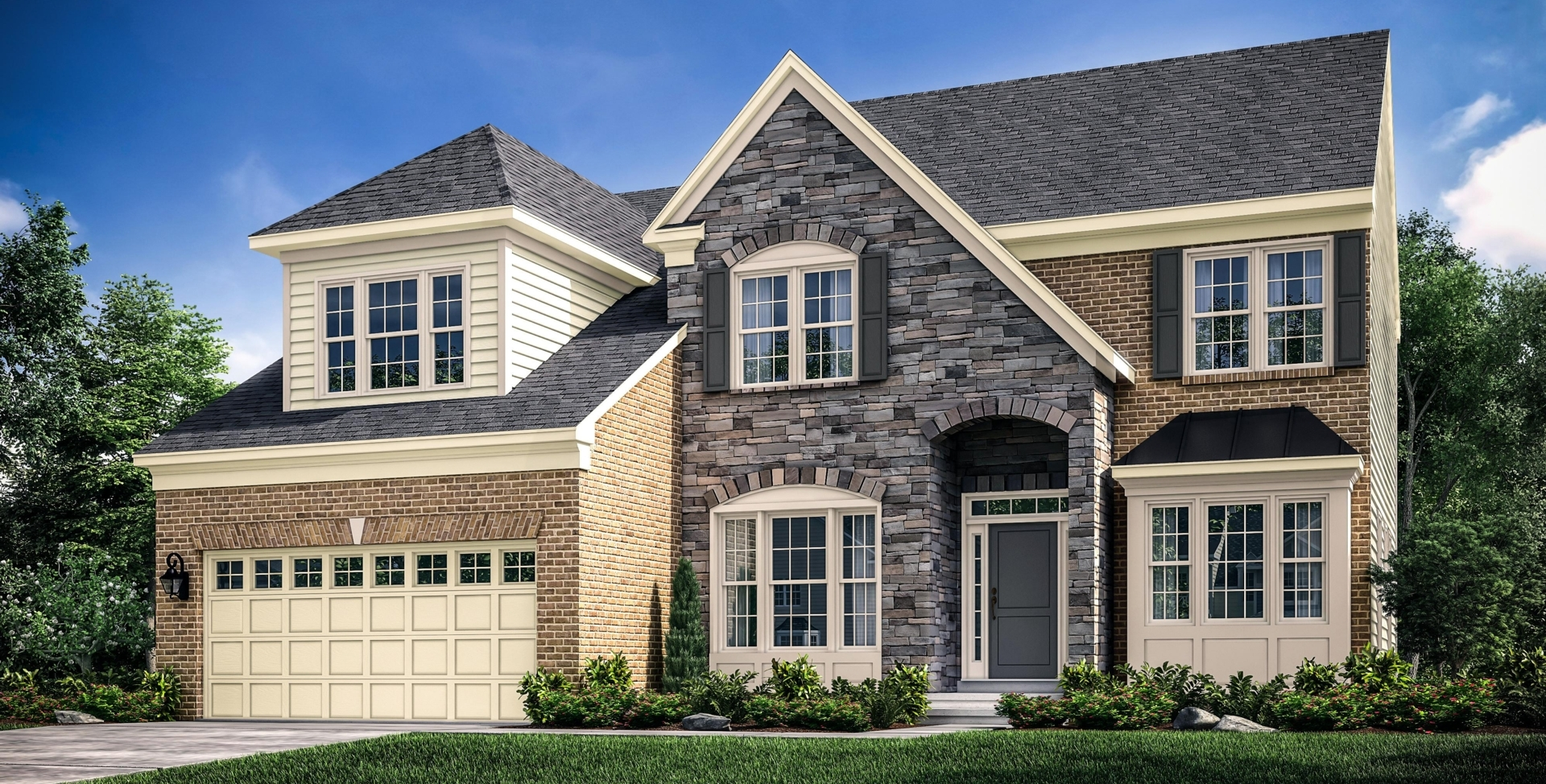 New single family home designs at canter creek upper for Atlantic home designs