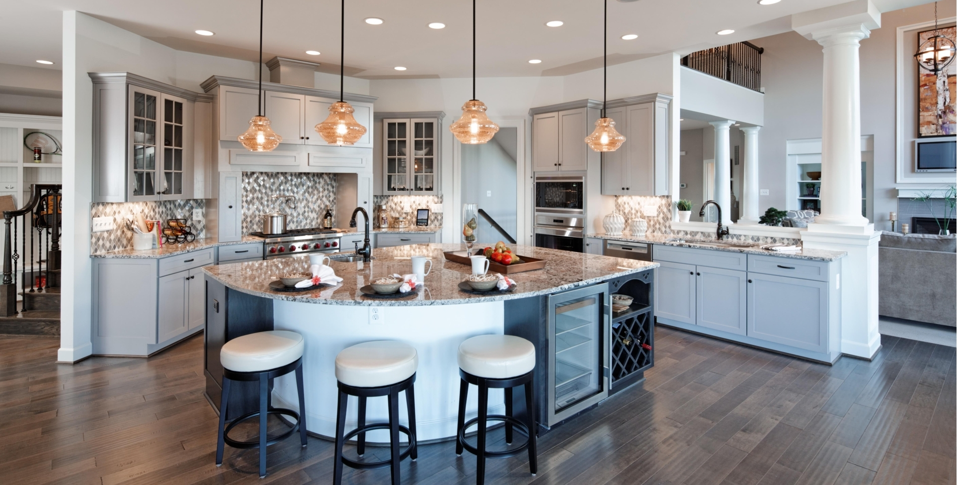Venezia Model Home Gourmet Kitchen