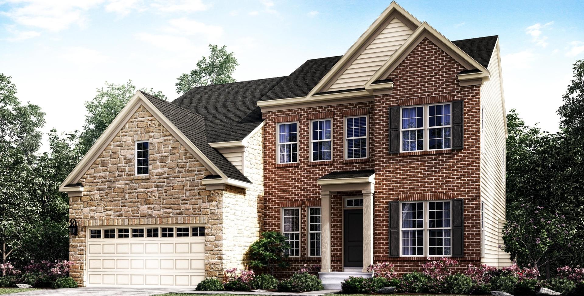 Single family home in md va matera mid atlantic builders for Mid atlantic home builders