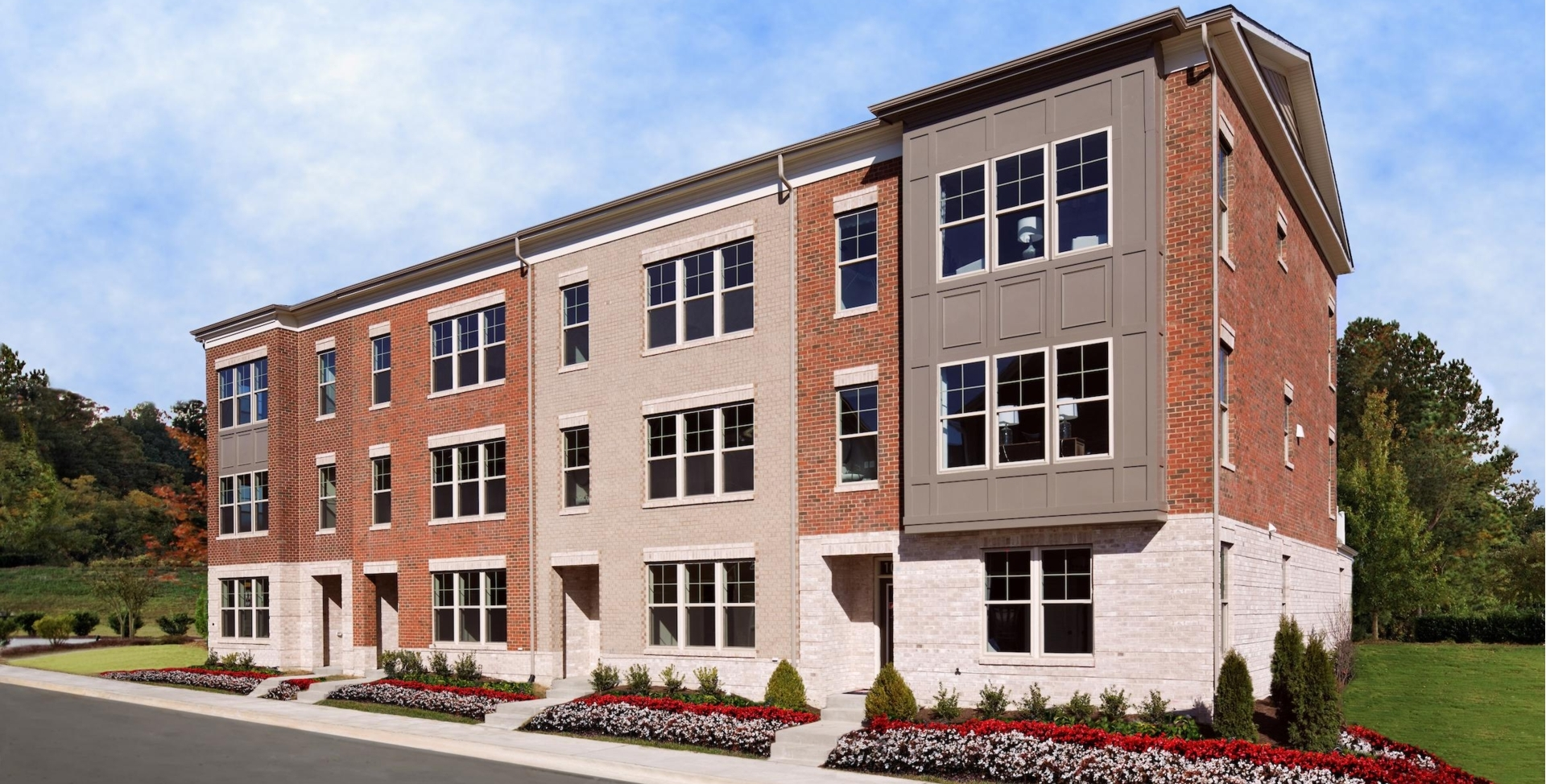 Townhome in md va urban towns mid atlantic builders for Mid atlantic home builders
