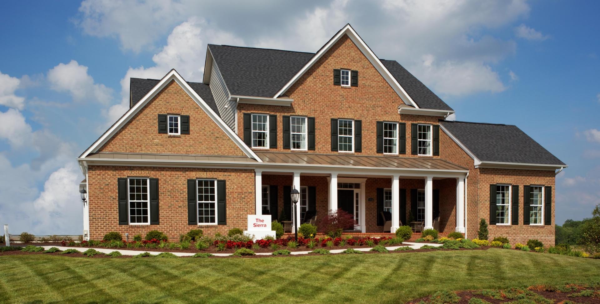 Single family home in md va sierra 2 0 mid atlantic for Mid atlantic home builders